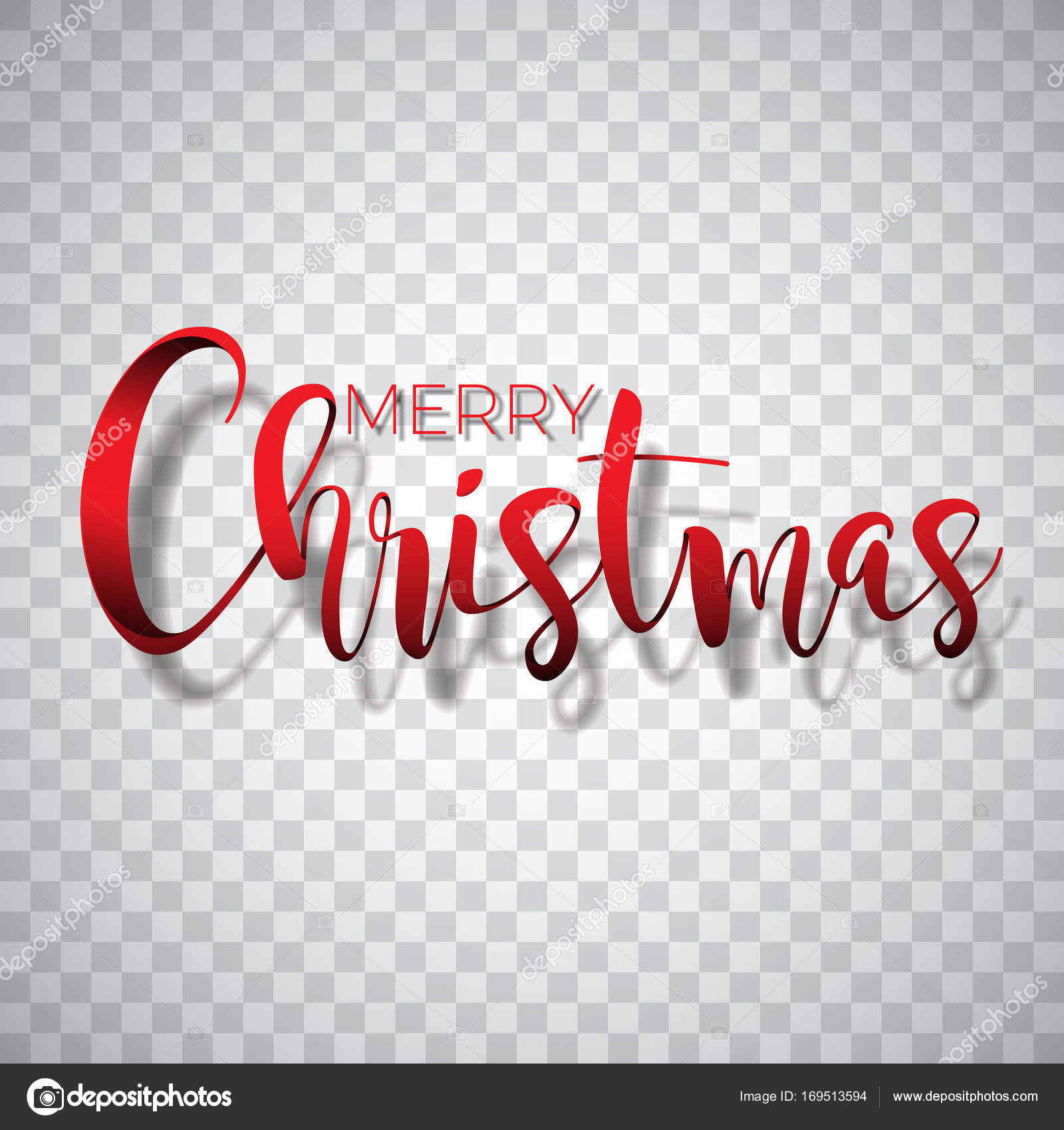 Merry christmas typography illustration on a transparent merry christmas typography illustration on a transparent background vector logo emblems text design for greeting cards banner gifts poster vector by kristyandbryce Choice Image