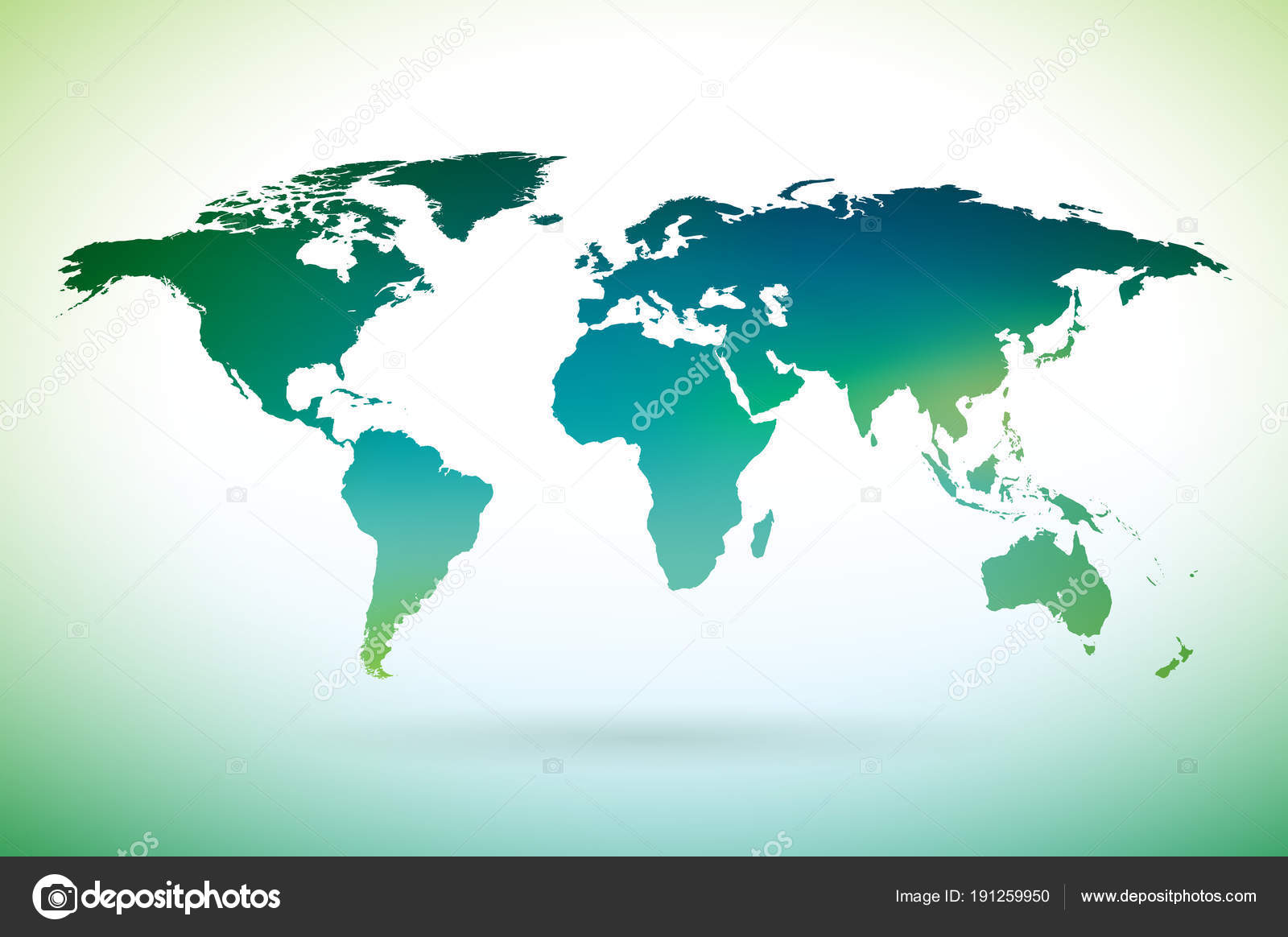 World map design on white background on environment concept earth world map design on white background on environment concept earth illustration with continents vector graphic for banner poster or greeting card vector gumiabroncs Image collections
