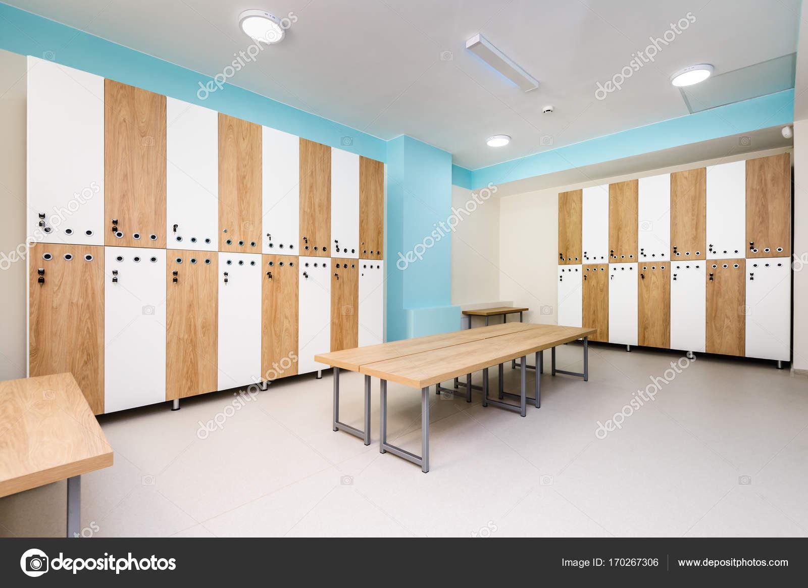Interior of gym locker room u2014 stock photo © starush #170267306