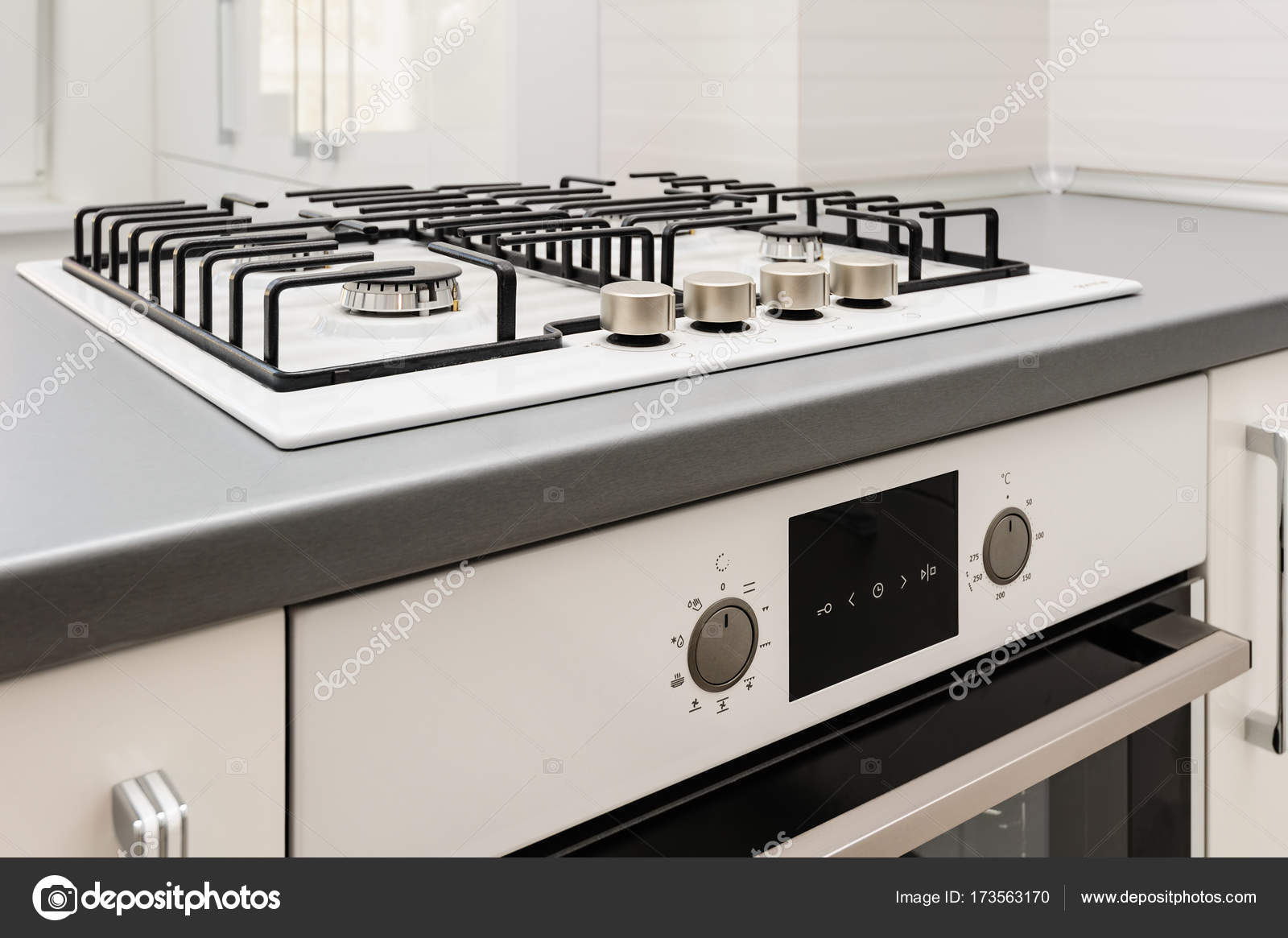 How to embed a gas stove in the countertop: step by step instructions 95