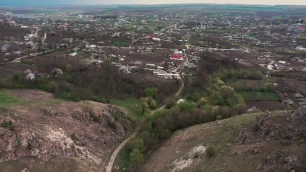 Schlucht zwischen zwei Toltern in der Nähe des Dorfes Trinca, Moldawien