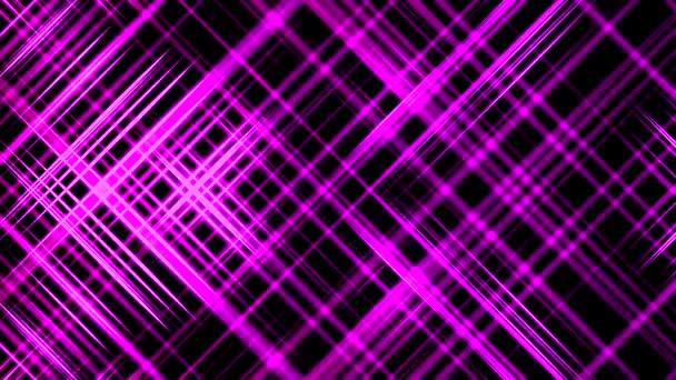 Absztrakt lila csillogás háttér 4k felbontás lila neon fény hurok. Lila Neon Lights alkotó hűvös geometriai minták. Can Use for Concert, Party, Club, DJ Végezze el a Díj színpadi háttér hurok