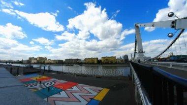 Krymskiy bridge in Moscow