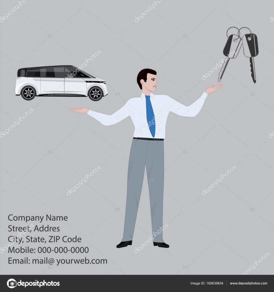 Banner - Auto- service sale, rental, repair - man - agent
