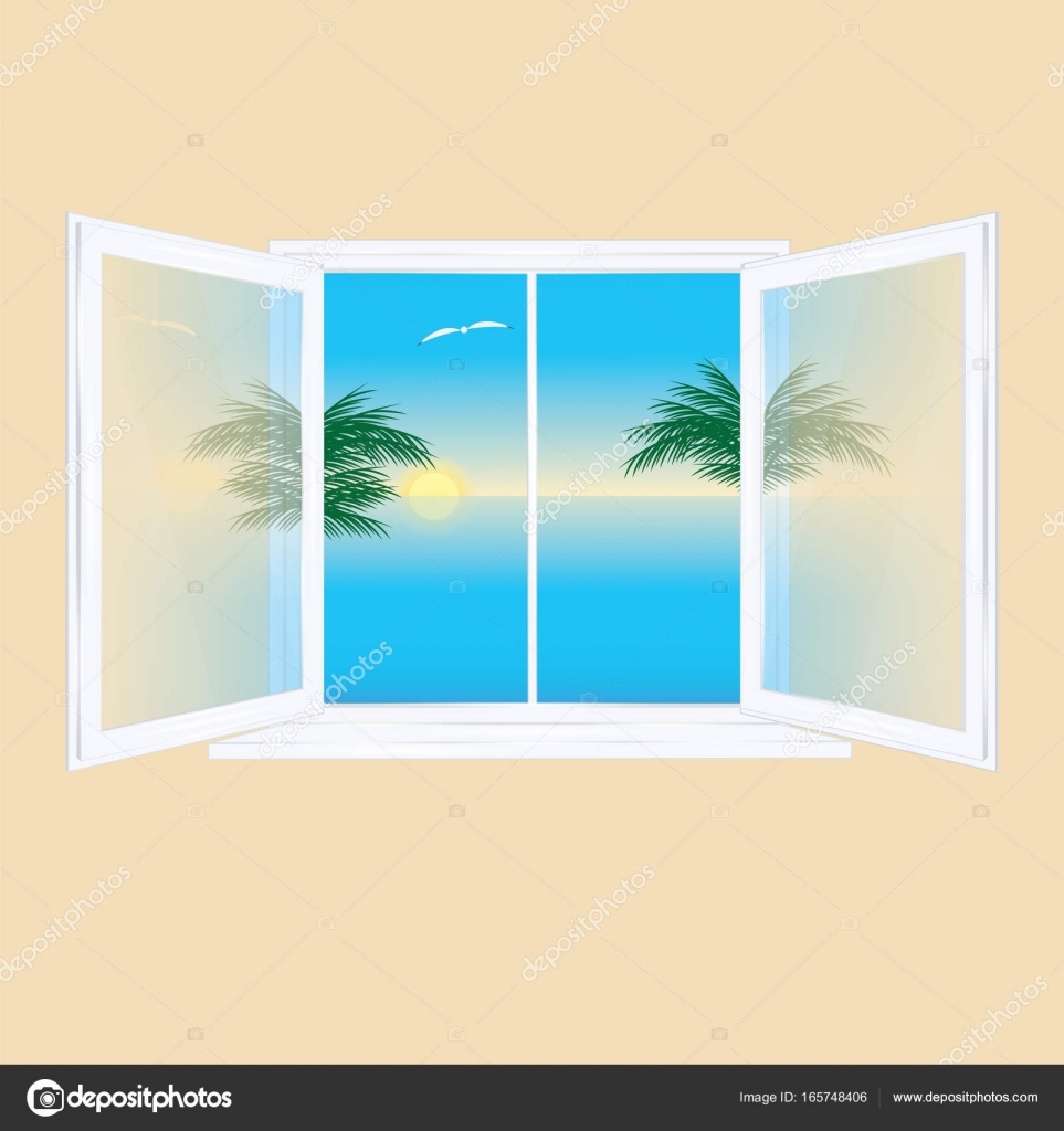 Transom Windows A Useful Design Element: Window Open Inside Glass Transparent Behind The Window