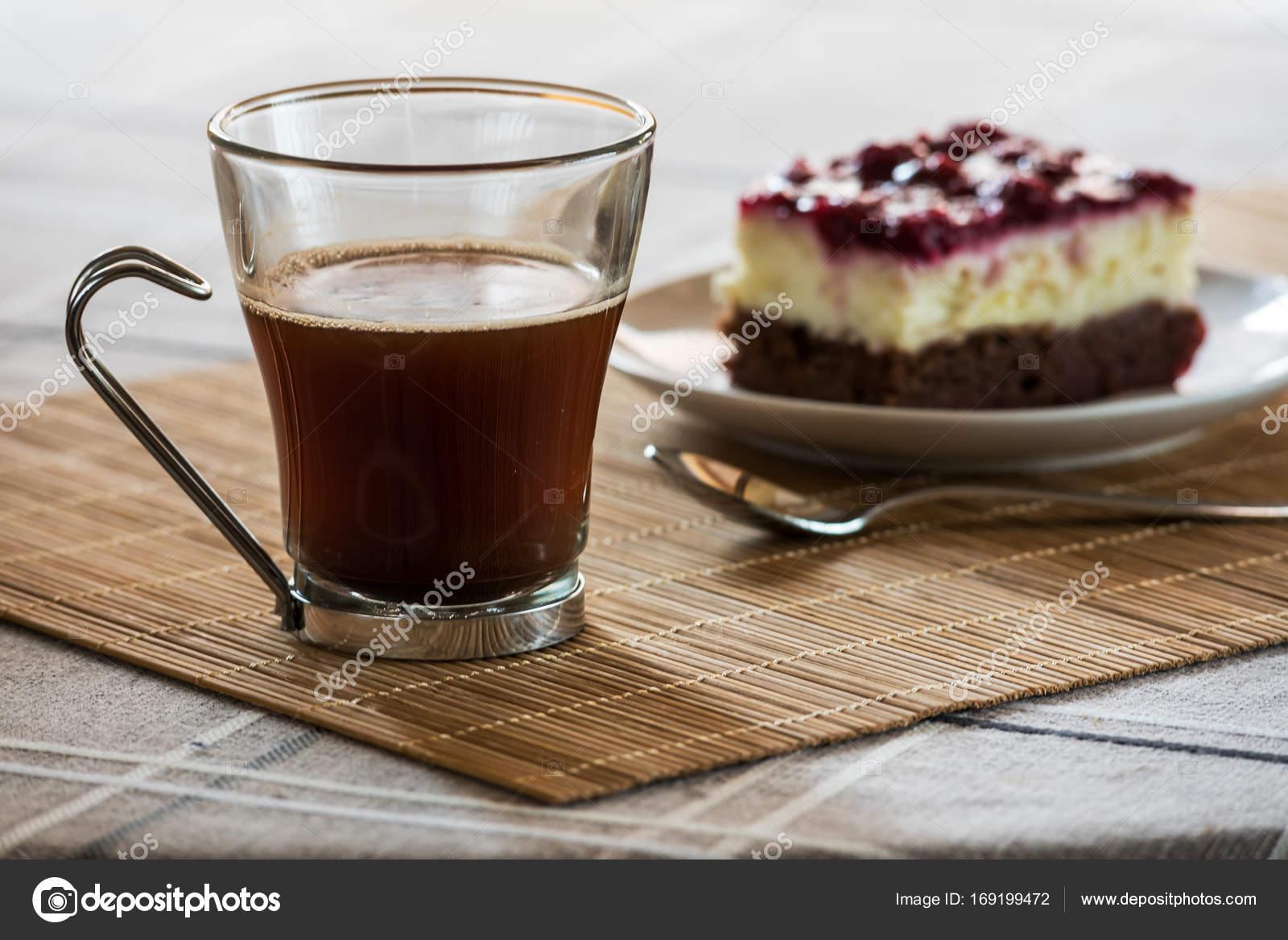 taart en koffie