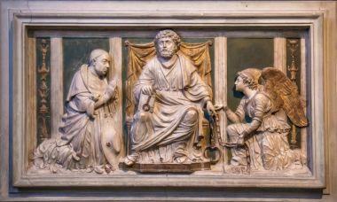 "Картина, постер, плакат, фотообои ""Интерьер церкви Святого Петра в цепях в Риме Италия"", артикул 178854336"