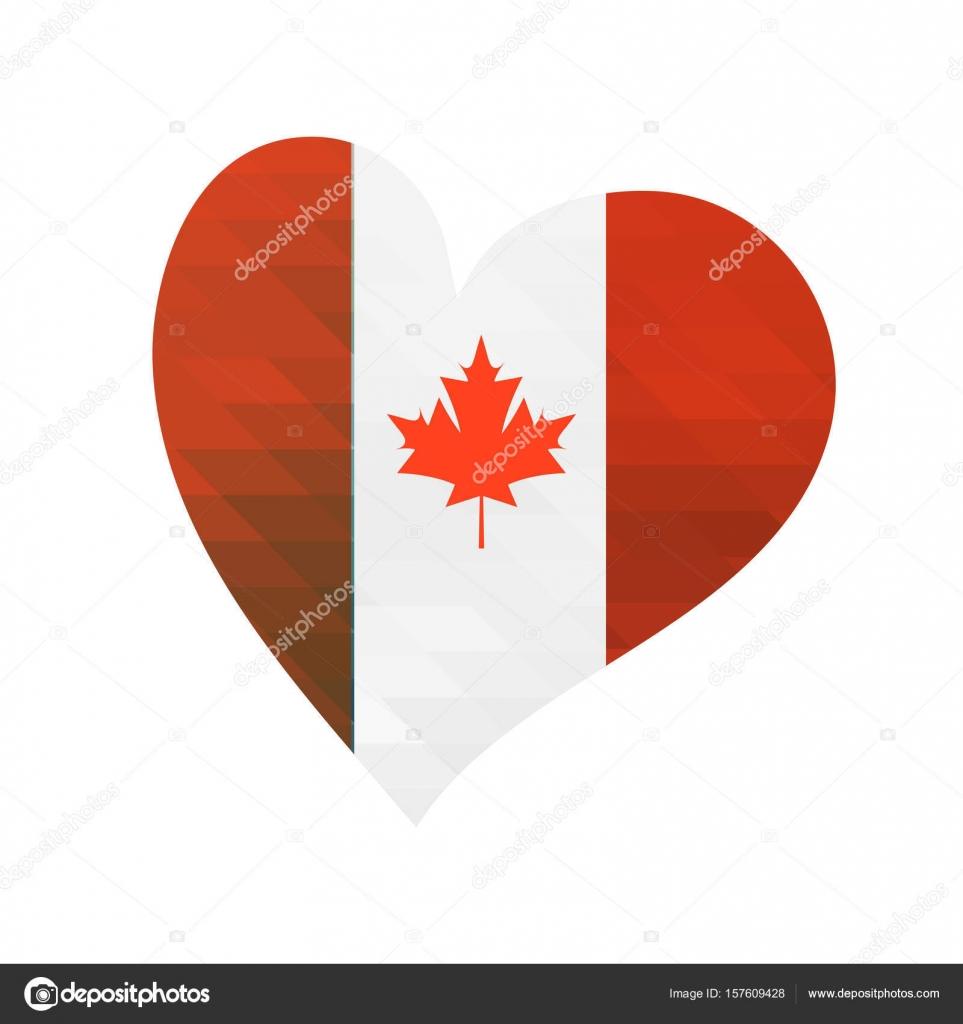 Vector bandera de Canadá. Ilustración de vector para el día ...