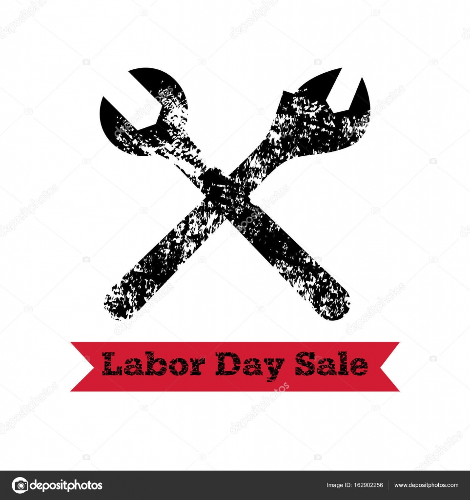 Vector Illustration For Usa Labor Day 4th September American