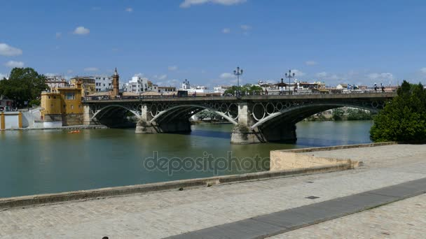View of canal Alfonso XIII in Seville