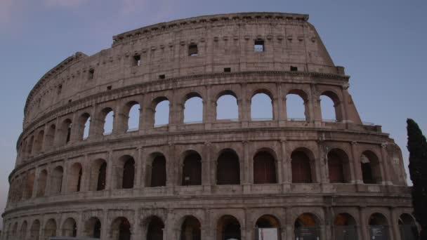 Zadní záběry Koloseum