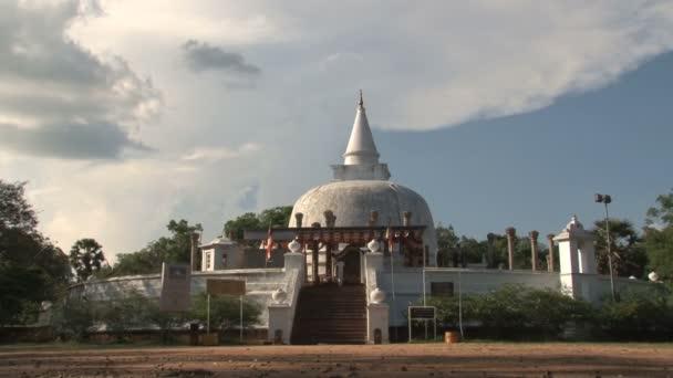 Stupa in Anuradhapura, Sri Lanka