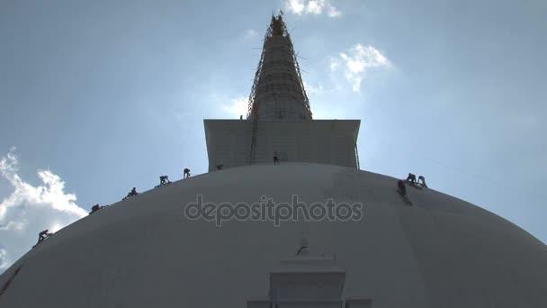 Building of Dagoba in Anuradhapura