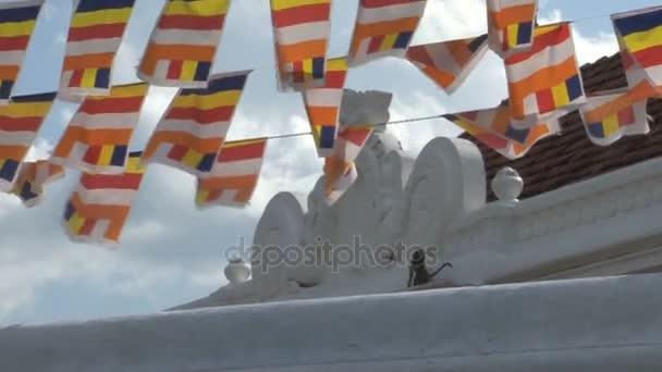 Dagoba in Anuradhapura, Sri Lanka
