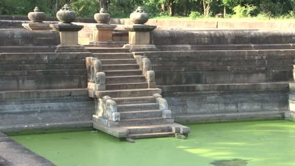 Kuttam Pokunu in Anuradhapura, Sri Lanka