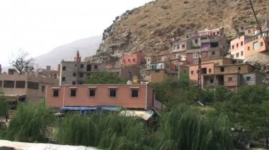 Berber house at Ourika river