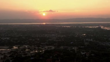 Sunset from Mandalay hill