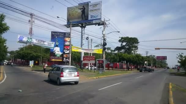 Driving on streets of Nicaragua