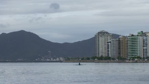Záběry z Florianopolis, Panorama Beira Mar avenue