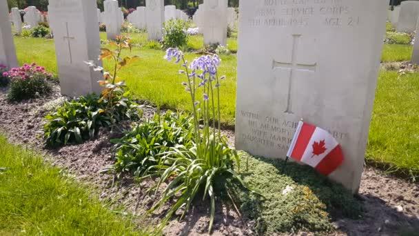 Canadian War Cemetery in Holten