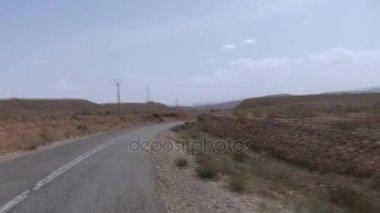 Driving through Dades Valley