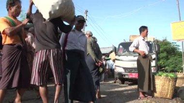 Market in Myanmar Nyaung Shwe