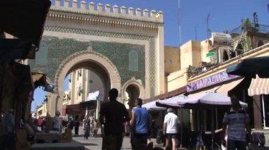 Medina gate in Kasbah