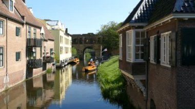 Berkel gate and historic canal house