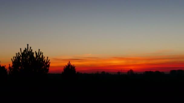 Čas západu slunce končí na Wierdenseveld