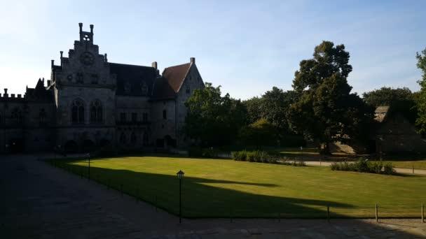 zahrada hradu Bentheim