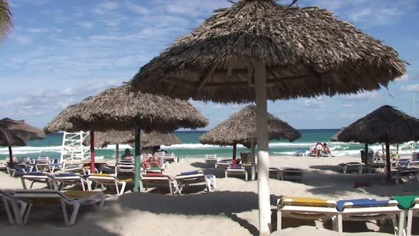 Rekreantů na Varadero beach