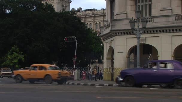 traffic on streets of Havana