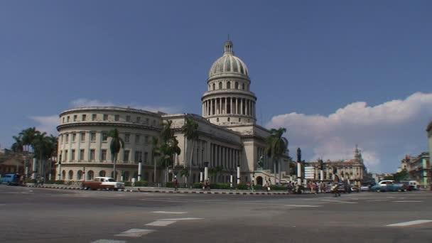 View of Capitolio Nacional in Havana