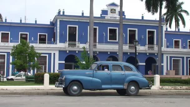 Oldtimer car in Cienfuegos, Cuba