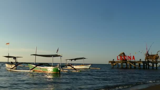 Amazing panoramic seascape with boats
