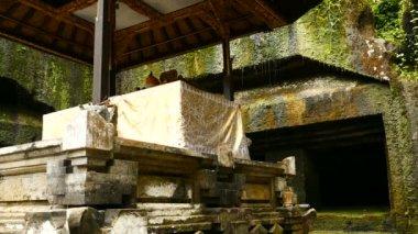 Waterfall at Gunung Kawi Temple in Ubud, Bali