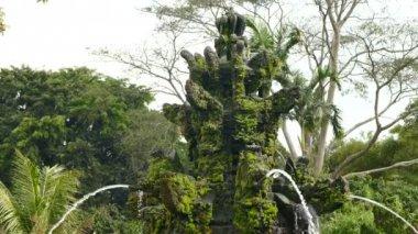 Fountain at Taman Ayun temple, Mengwi, Indonesia