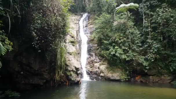 Amazing cold waterfall in Philipinnes