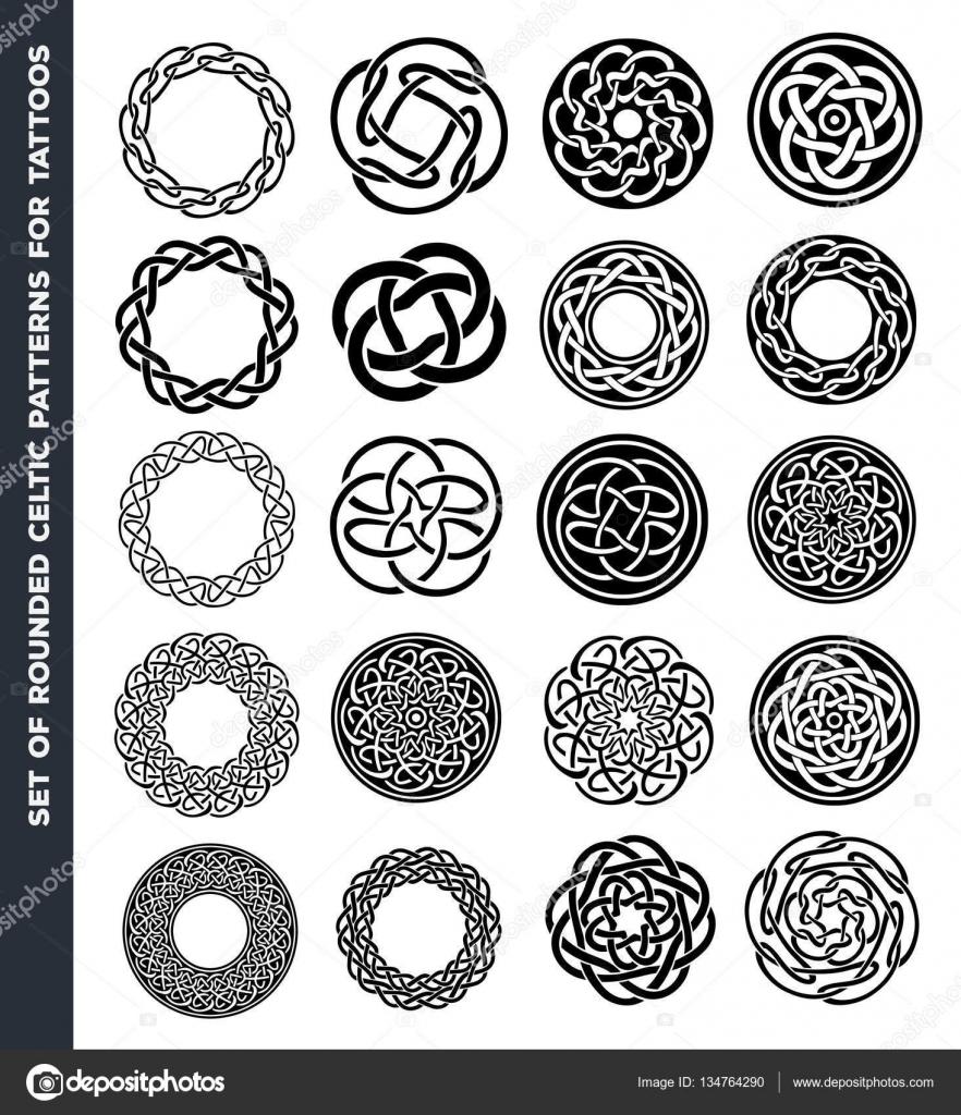 Imágenes Para Diseños De Tatuajes Céltico Círculos Y Anillos Para