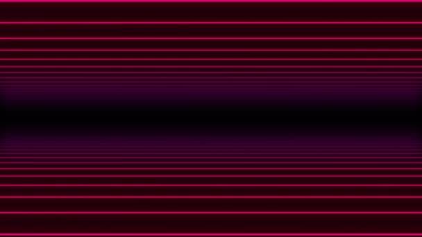 Abstraktní minimální 3d mřížka pozadí smyčka / 4k animace abstraktního pozadí s liniemi a rotaing mřížky a bezešvé smyčky