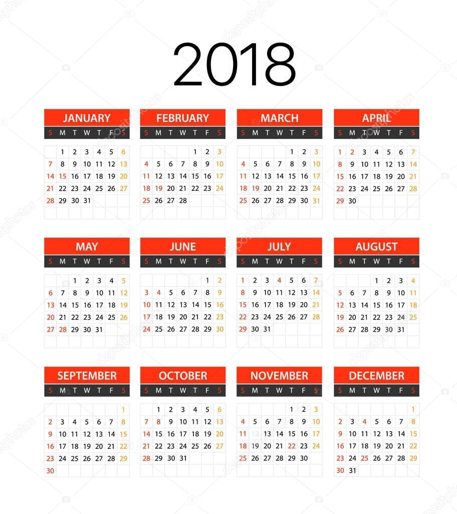 Fantastisch 1 Jahr Kalendervorlage Zeitgenössisch ...