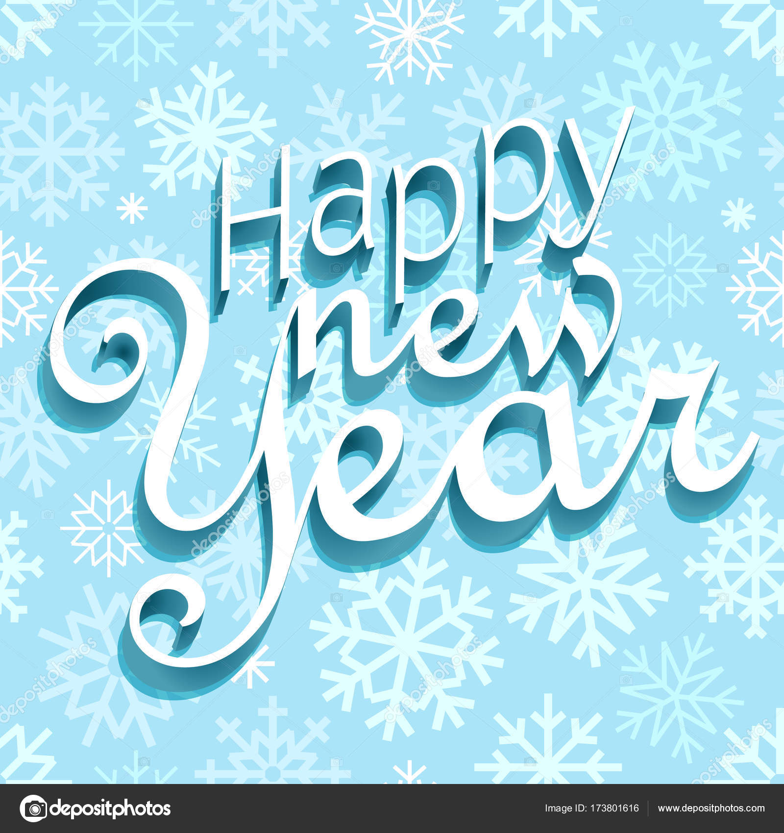 Happy New Year Greeting Card 94