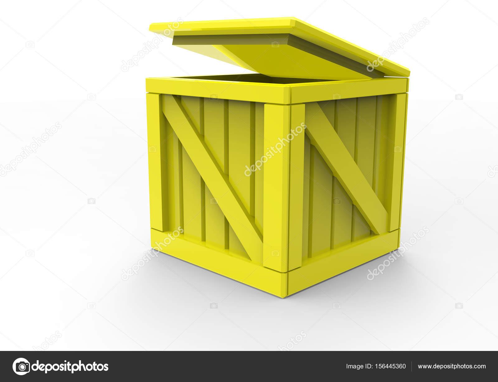 Rahmen aus Holz Box 3d — Stockfoto © blankvoid #156445360