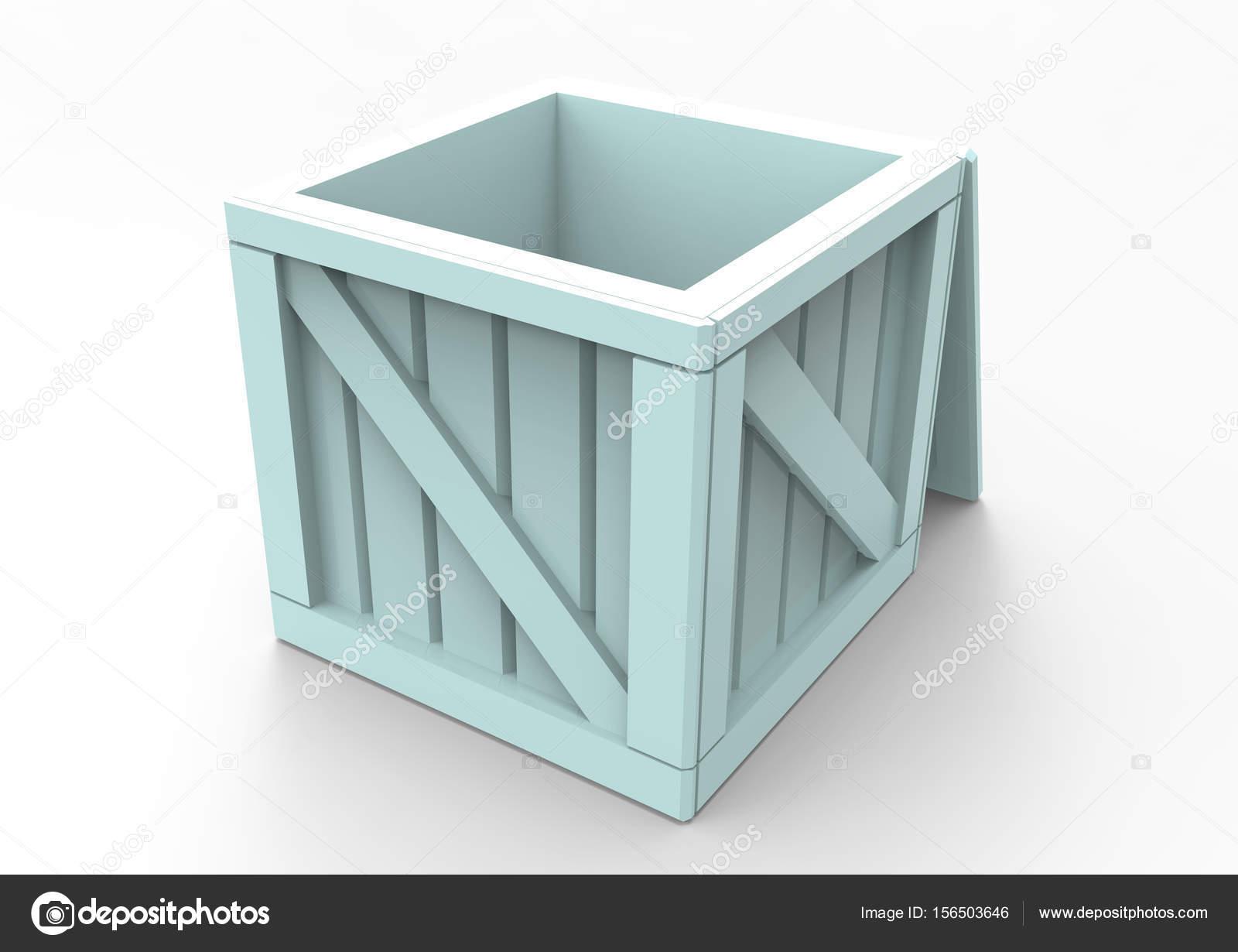 Rahmen aus Holz Box 3d — Stockfoto © blankvoid #156503646