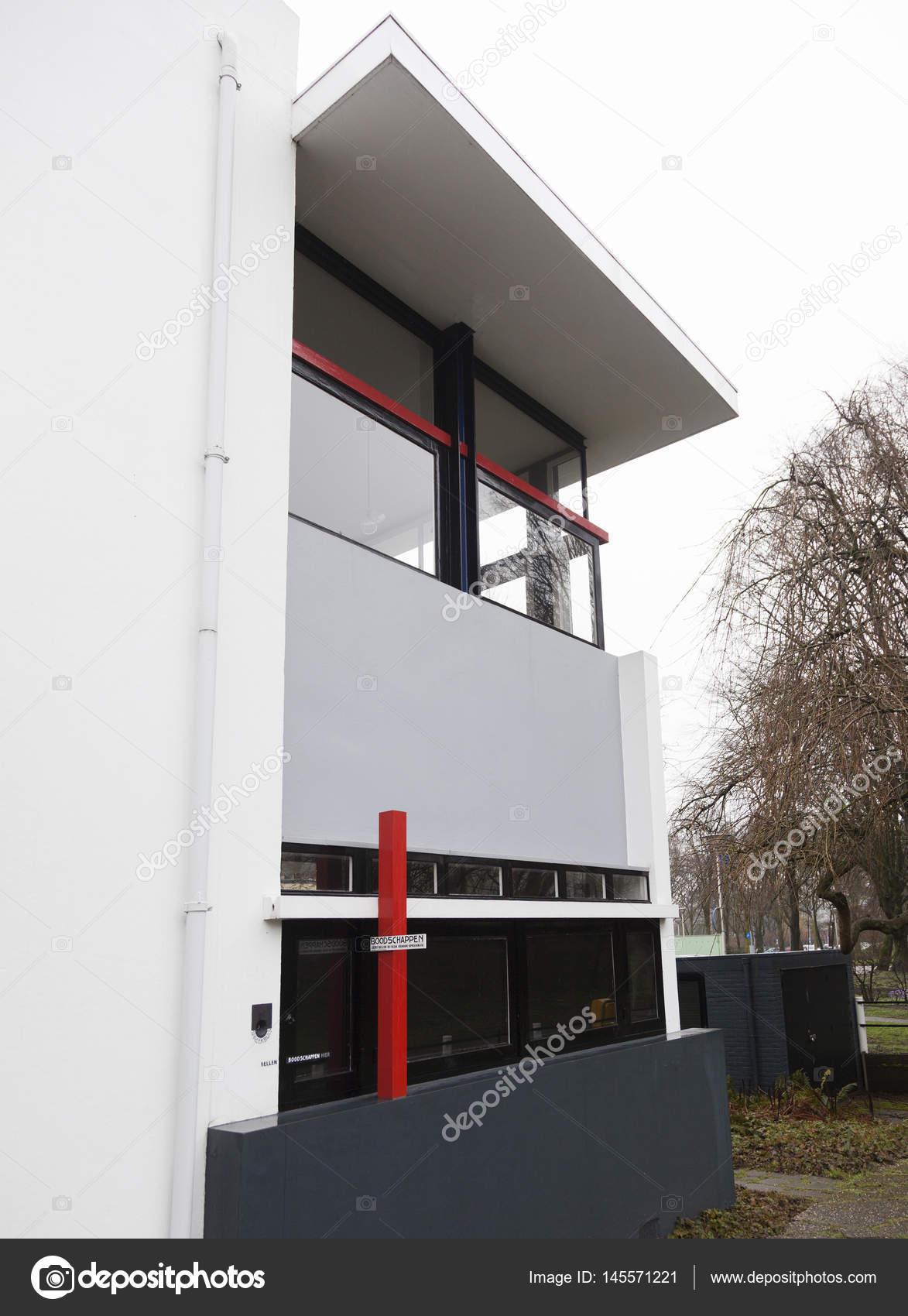 Teil Des Rietveld Schröder Haus In Der Niederländischen Stadt