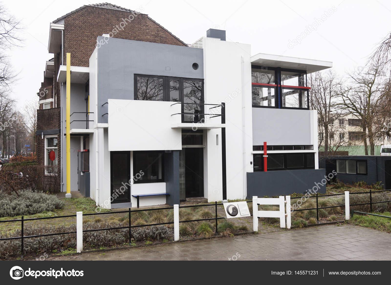 Rietveld Schröder Haus In Der Niederländischen Stadt Utrecht In