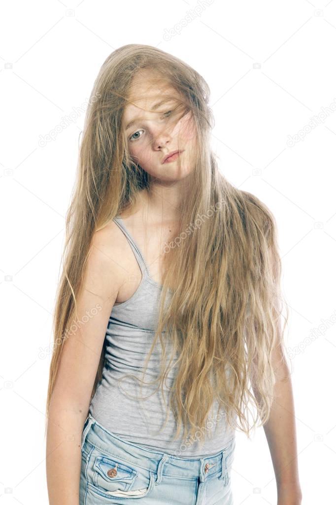 Blonder Teenie Und Stiefpapa