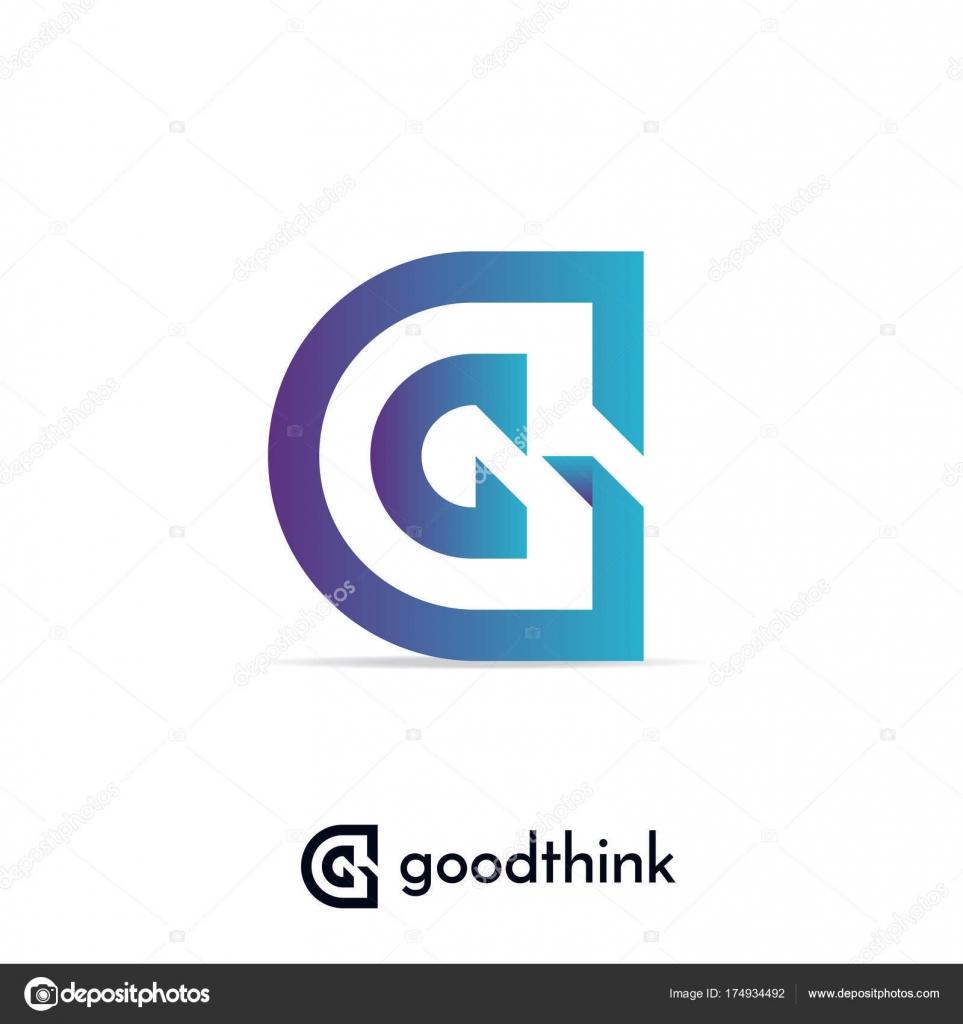 letter g logo design template vector illustration stock vector