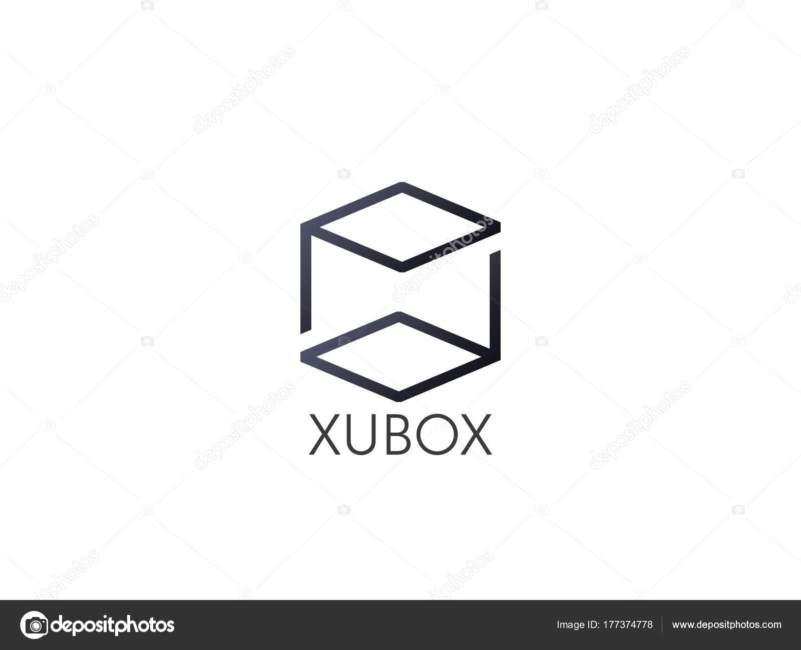 Abstract Box Cube Logo Icon Template Blockchain And Technology Diagram Thing Concept Symbol Vector Illustration Photo By Poenya200