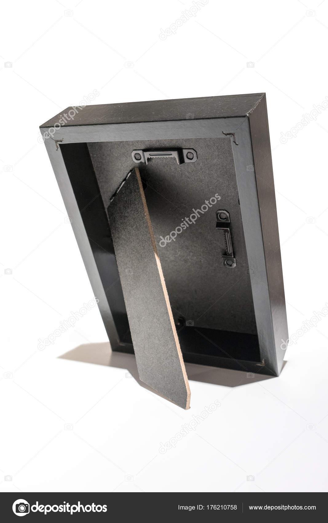 Parte posterior del marco en color negro — Foto de stock © v74 ...